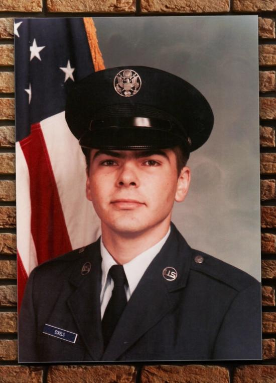 Me during my USAF basic training.