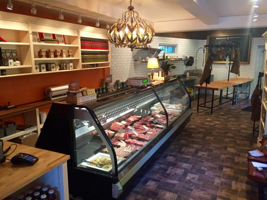 My new butcher shop I just opened, Muckleston & Brockwell - A Fine Butchery