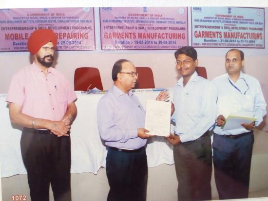 Certified Trainer_Ministry of MSME_Govt. of India