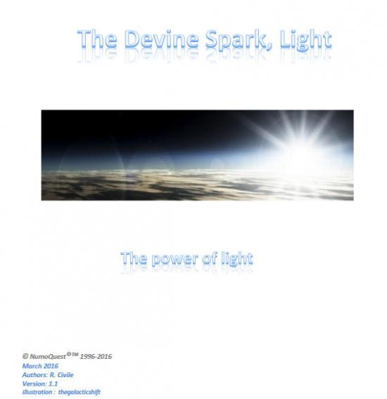 First it was dark and void ... then ... The ancient Universal Principle of the Divine Spark revealed... http://numoquest.nl/Divine%20Spark.pdf