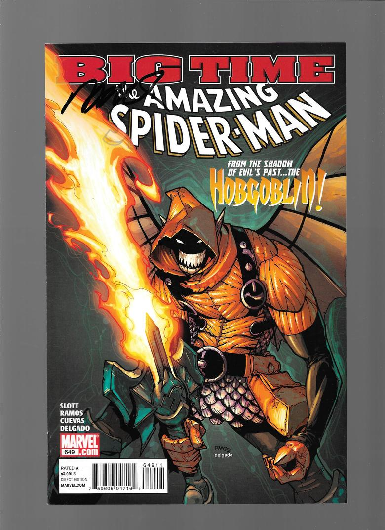 The Amazing Spider-Man 649  Ramos Sig MyReg-SigS