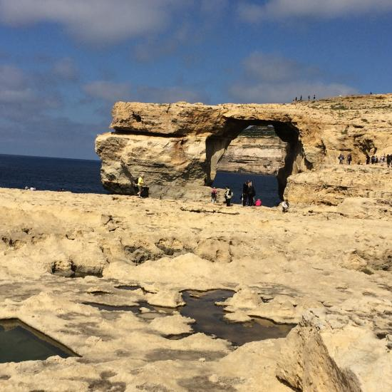 2 days before Storm which destroy this amazing site inGozo (Malta)