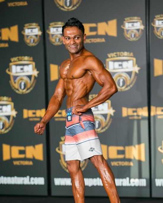 INBA open class 2 , second place