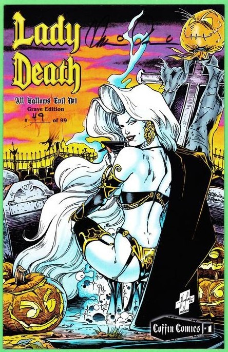 Lady Death All Hallows Eve Grave Ed  Pulido Sig MyReg-SigS